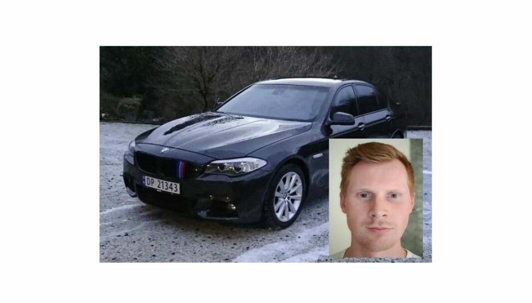 """<span class="""" font-weight-bold"""" data-lab-font_weight_desktop=""""font-weight-bold"""">AVDEKKET</span>: Filip Lygre (innfelt) avdekket forhistorien til denne bilen."""