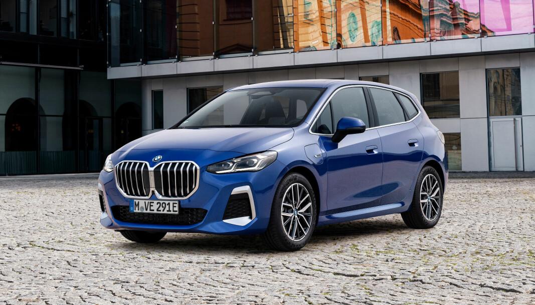 OPPFRISKET: Nå får også BMW 2 Active Tourer et utseende som gjør attraktiv.