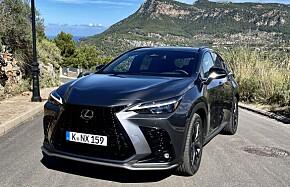 Lexus lokker med ladbar SUV-luksus