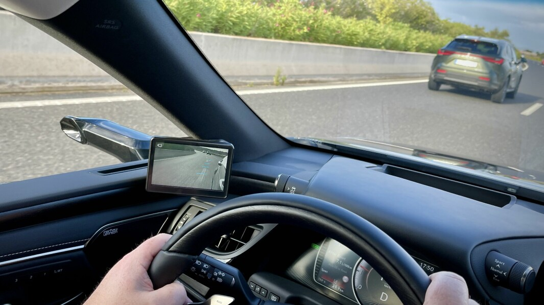 SPEIL, SPEIL PÅ VEIEN DER: Lexus lanserer en ny patent for kameraspeil.