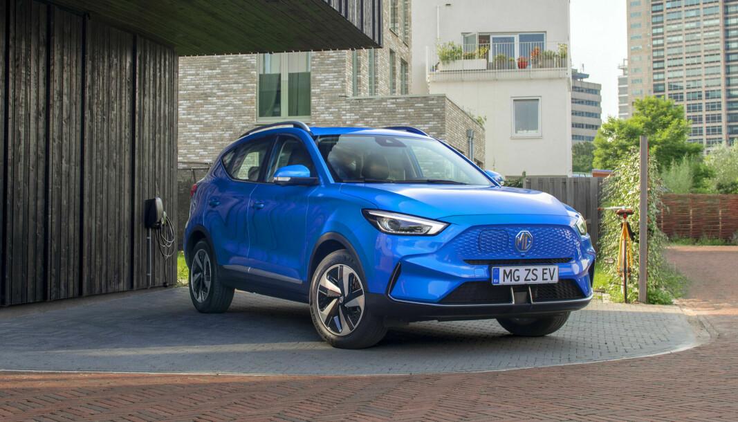 FRISKERE: Den lille elektriske SUV-en til MG har fått nytt ansikt, bedre rekkevidde og høyere pris.