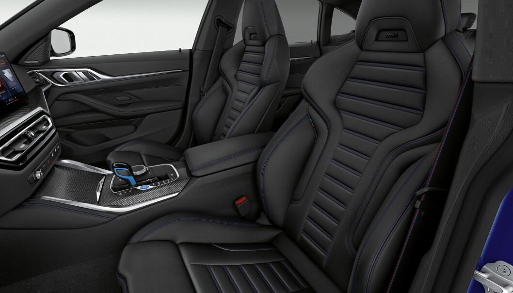 """<span class="""" font-weight-bold"""" data-lab-font_weight_desktop=""""font-weight-bold"""">KOMFORT: </span>Sittekomforten foran er i kjent stil utmerket i en BMW. Også støydempingen virker svært bra, med forbehold om at bilen er kjørt på tysk asfalt."""