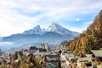 Tidlig sommer i de bayerske alpene og vakre Salzburg