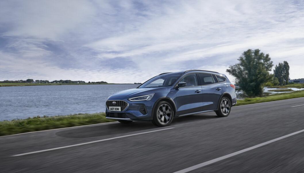 OPPGRADERT: Ford Focus – her i versjonen Active X, som er den beste etter Motors mening – er blitt mer moderne.