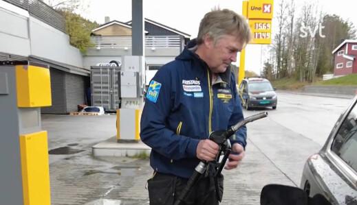 Nå er dieselen billigere i Norge enn i Sverige